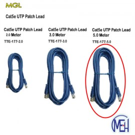 image of Cat5e UTP Patch leads 2.0 Meter(TTE-177-5.0)