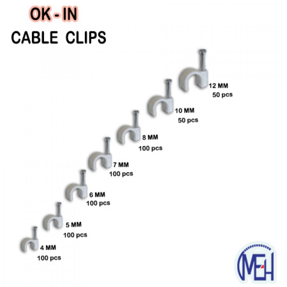 OK-IN Cable Clip
