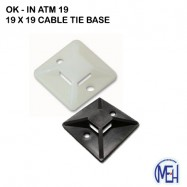 image of OK- IN Cable tie base ATM 19/ ATM 28 (100 PCS)