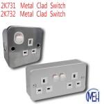 2K731/ 2K732  Metal  Clad  Switch