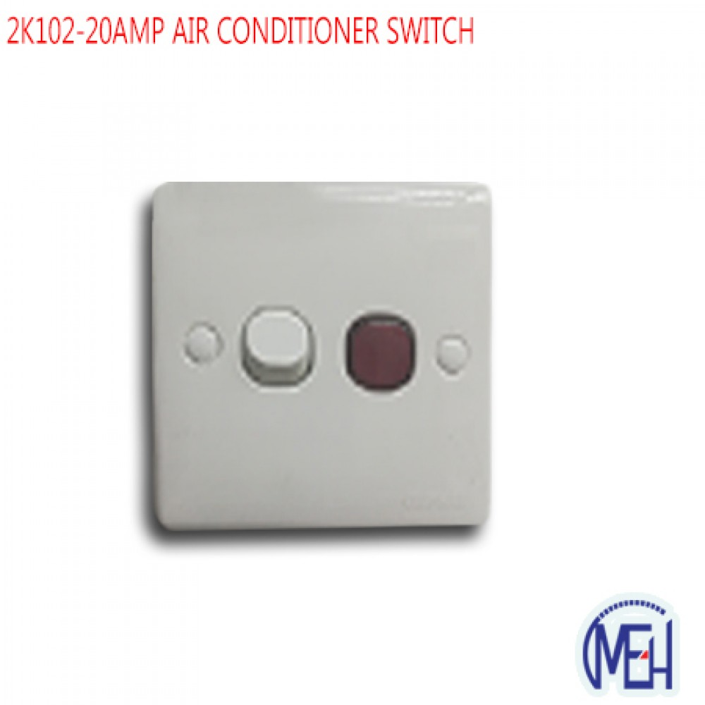 2K102-20AMP AIR CONDITIONER SWITCH