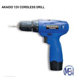 image of AKAIDO CORDLESS DRILL 12V