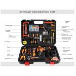 Mark-X MKX-2010-12.0V 46pcs 12v Cordless Drill Set