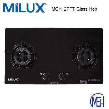 image of Milux MGH- 2PFT GLASS HOB