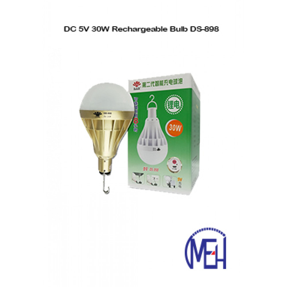 DC 5V 30W Rechargeable Bulb DS-898