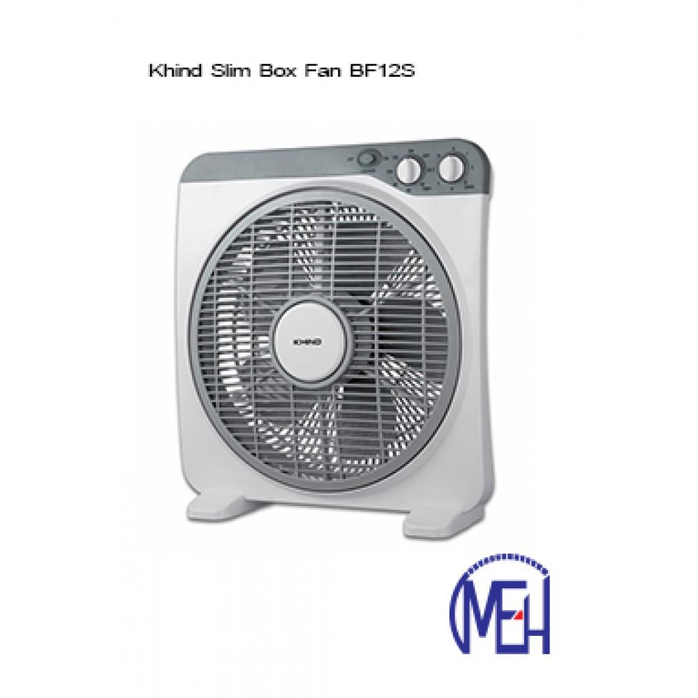 Khind Slim Box Fan BF12S