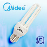 Midea Saver Smart 3U 14W E27 Day Light (Buy 1 Free 1)
