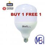 Taiwan Otali LED Eye Care ET Bulb 13W E27 Cool White/Warm White (Buy 1 Free 1)