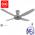 KDK V Touch Junior Ceiling Fan (140cm/ 56″) K14Y2-GS