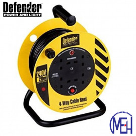 image of Defender Light industrial Reel 25 Meters (Power Cord) E86477