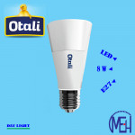 Otali Ice Cream LED Bulb 8W E27 (Buy 1 Free 1)