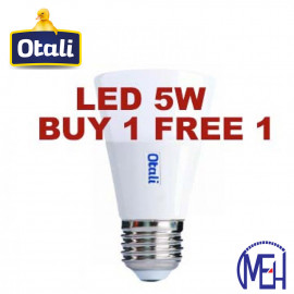 image of Otali Ice Cream LED Bulb 5W E14/E27 (Buy 1 Free 1)
