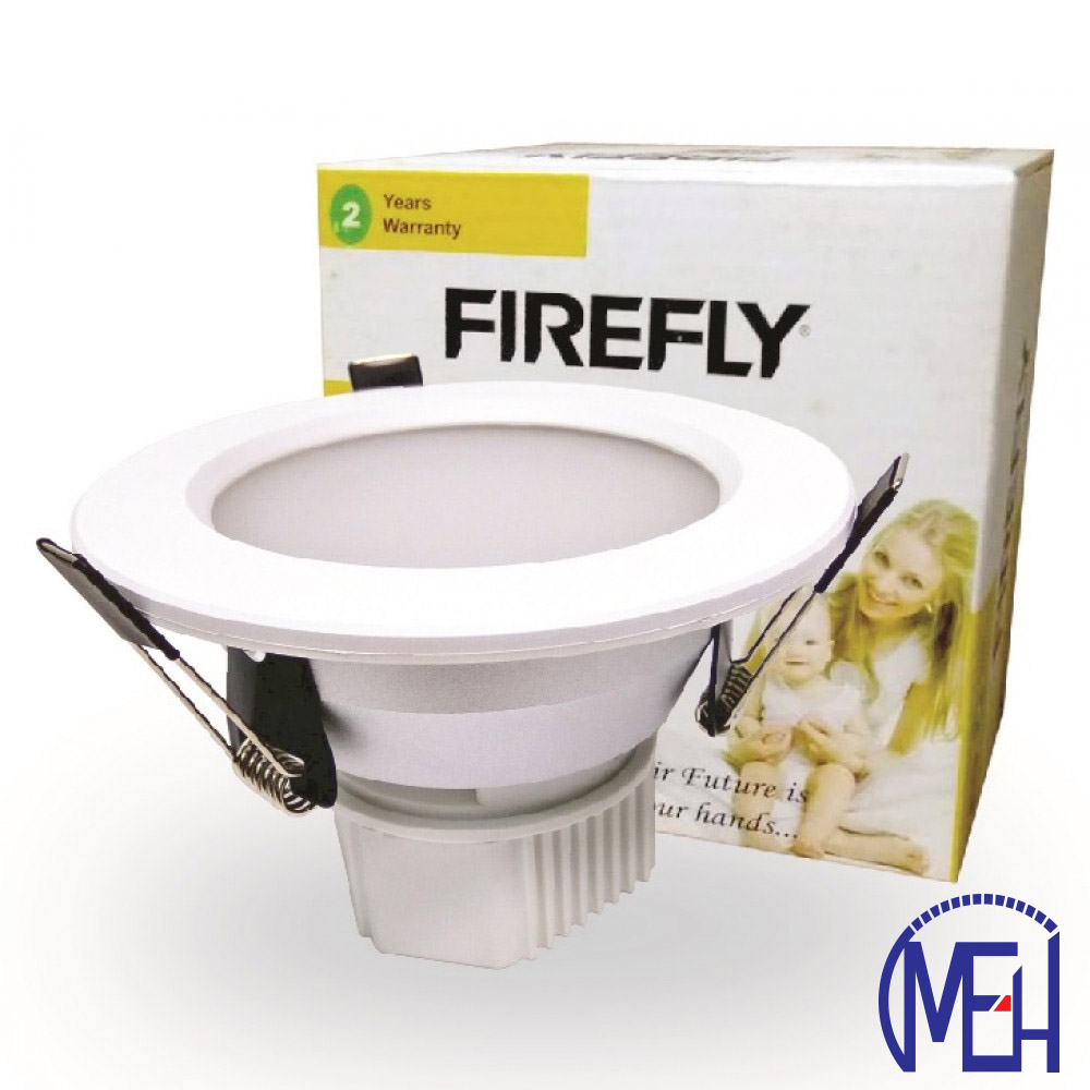 "Firefly 4""LED Downlight Round 8W DL/WW"
