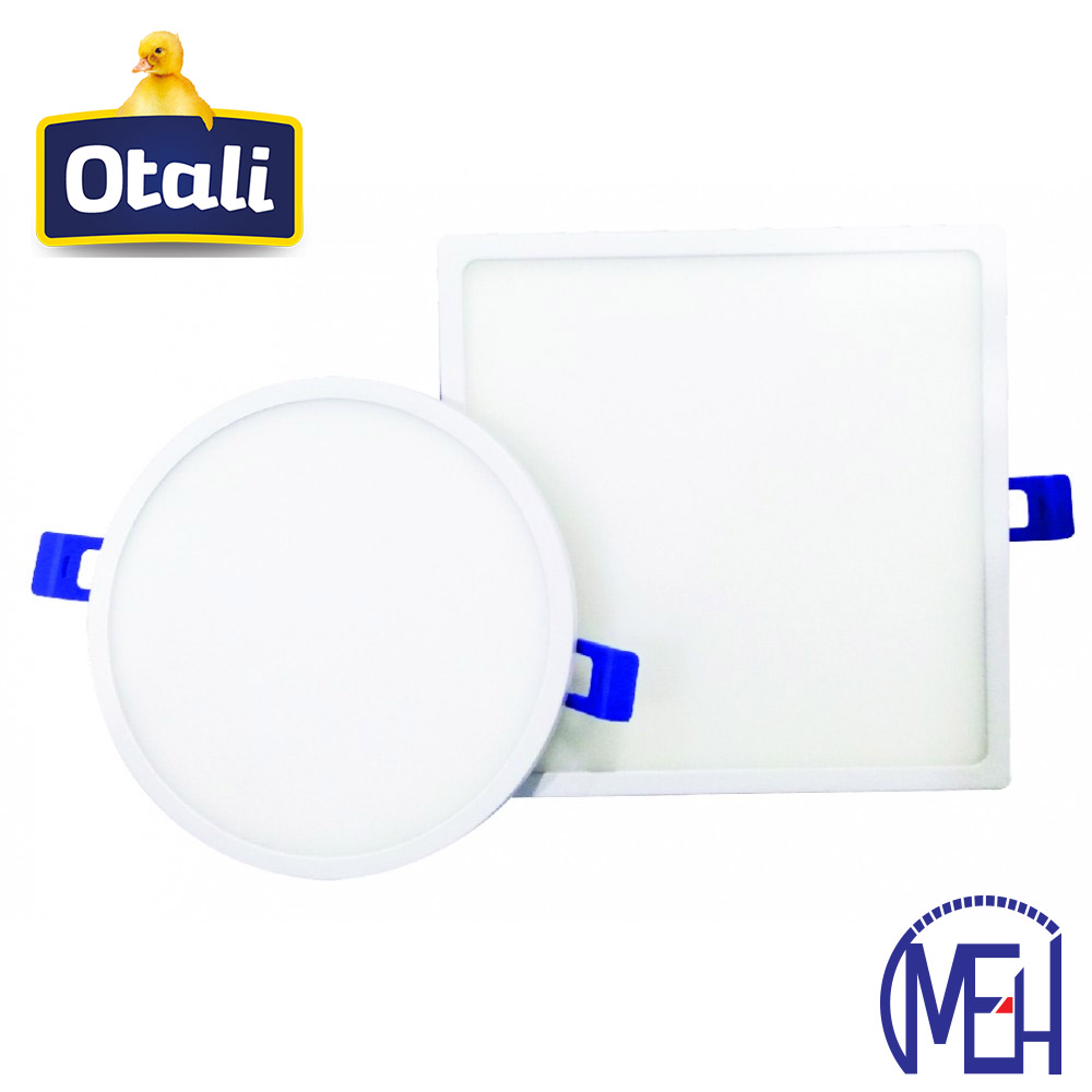 Otali LED Ultra Slim Panel Light 12W Round/Square Cool White/Warm White