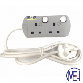 image of UMS 13AMP Portable Switched Socket Outlet  2Y 8413-N