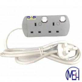 image of UMS 13AMP Portable Switched Socket Outlet  2Y 8413-N