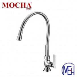 image of Mocha Flexible Pillar Mounted Sink Tap M2111