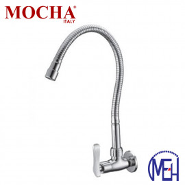image of Mocha Flexible Wall Mounted Sink Tap M2110