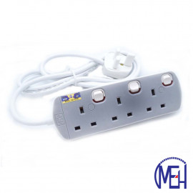 image of UMS 13AMP Portable Switched Socket Outlet  3y 8413-N