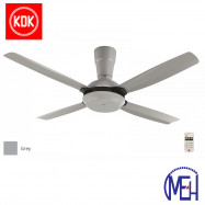 image of KDK Remote Control Type Fan (140cm/56″) K14X5-GY