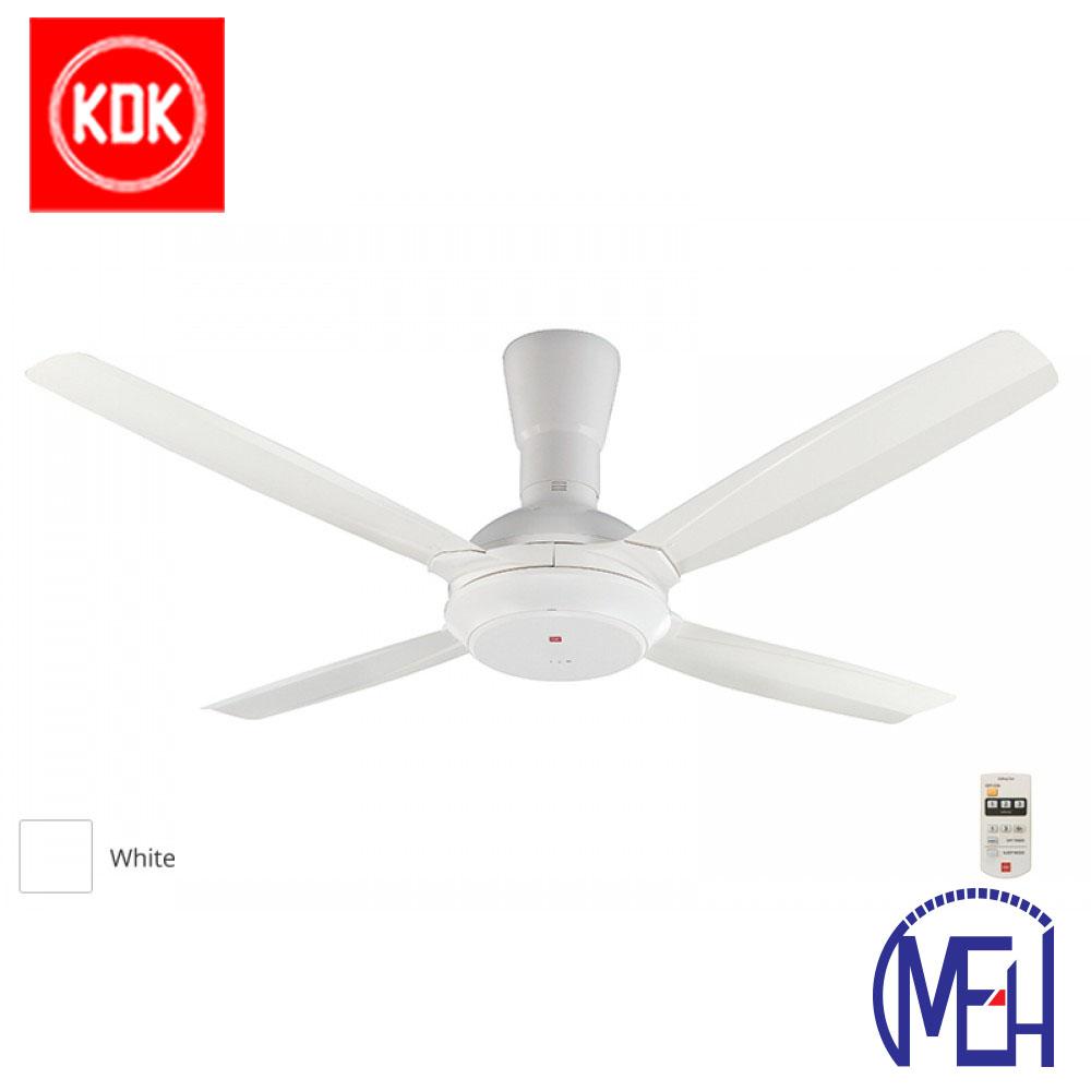 KDK Remote Control Type Ceiling Fan (140cm/56″) K14X5-WT