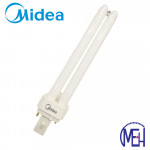 Midea PL-C (2 Pin) 26W Day light/Cool White G-24d-3 (Buy 5 Free 5)