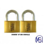 image of Yale Brass Padlock (50mm) V140-50KA2