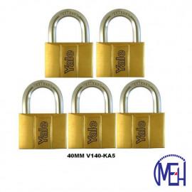 image of Yale Brass Padlock (40mm) V140-40KA5