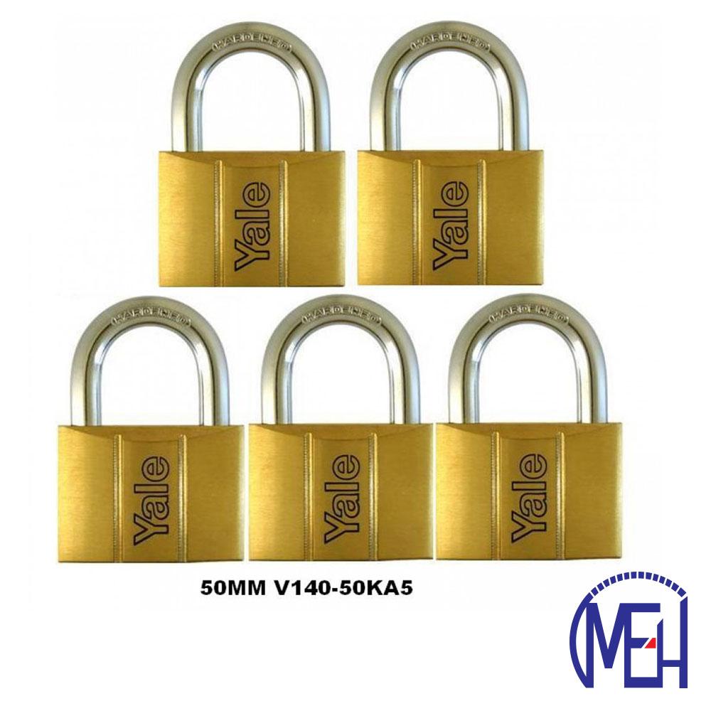 Yale Brass Padlock (50mm) V140-50KA5