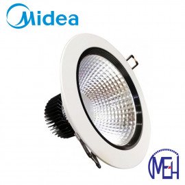 "image of Midea 5W Downlight 4"" with Milk White Cover Day Light/Warm White"