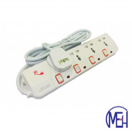 image of UK Multi Extension Socket-Neon UK-904