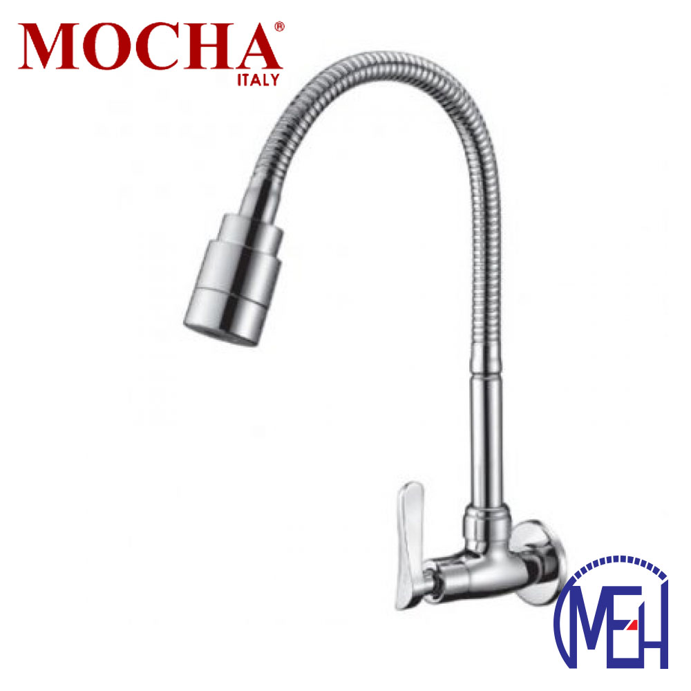 Mocha Flexible Wall Mounted Sink Tap M2117
