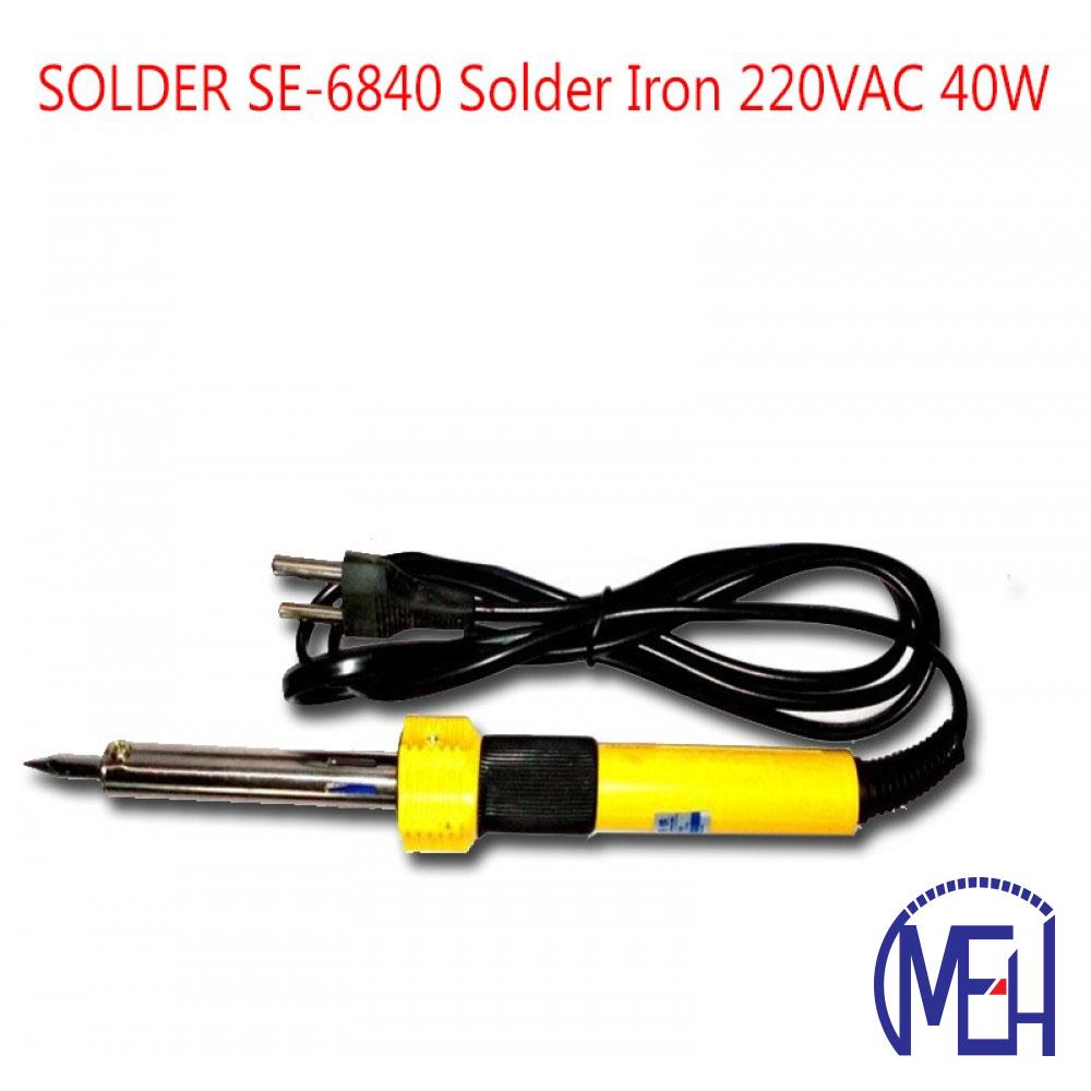 SOLDER SE-6840 Solder Iron 220VAC 40W