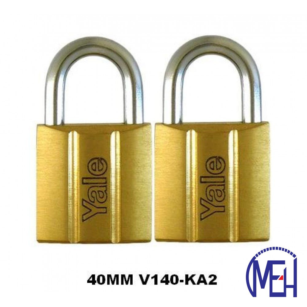 Yale Brass Padlock (40mm) V140-40KA2