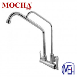 image of Mocha Wall Mounted Sink Tap With Filter Tap M2162