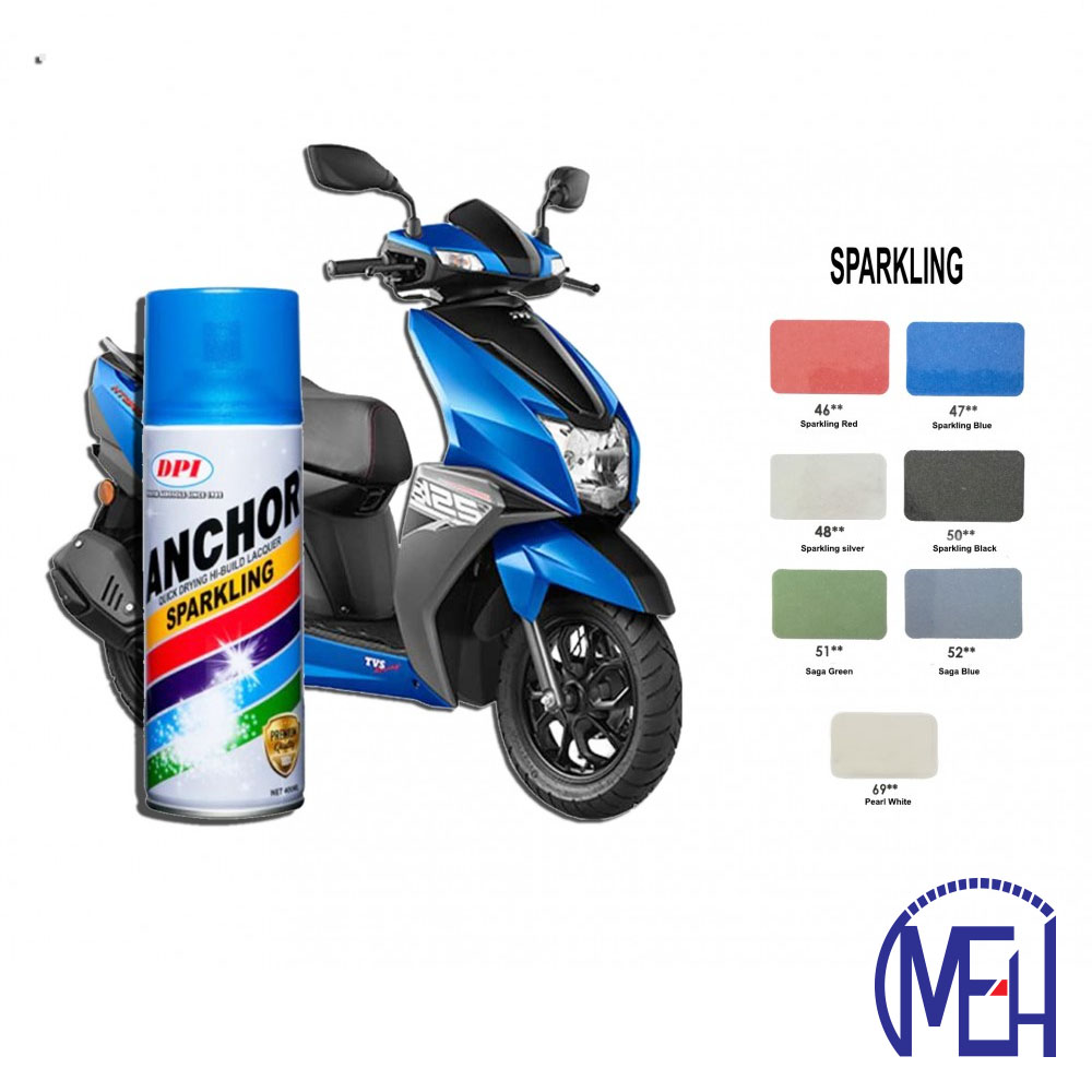 Anchor Spray Paint-Sparkling Colour