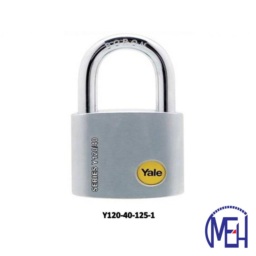 Yale Solid Brass Padlock (40mm) Y120-40-125-1