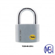 image of Yale Solid Brass Padlock (40mm) Y120-40-125-1