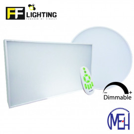 image of FF Lighting LED Pudding Surface Downlight 40W Round/Square Day Light-Warm White