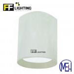 FF Lighting LED Lithium (LI) Surface Downlight 12W White Body Day Light/Warm White