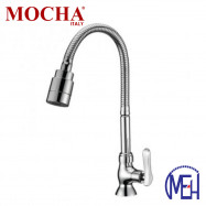 image of Mocha Flexible Pillar Mounted Sink Tap M2116