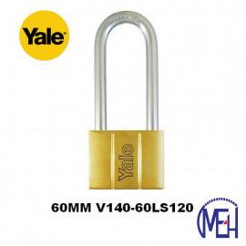 image of Yale Brass Padlock (60mm) V140-60LS120
