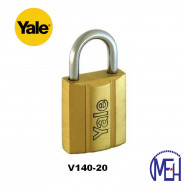 image of Yale Brass Padlock (20mm) V140-20