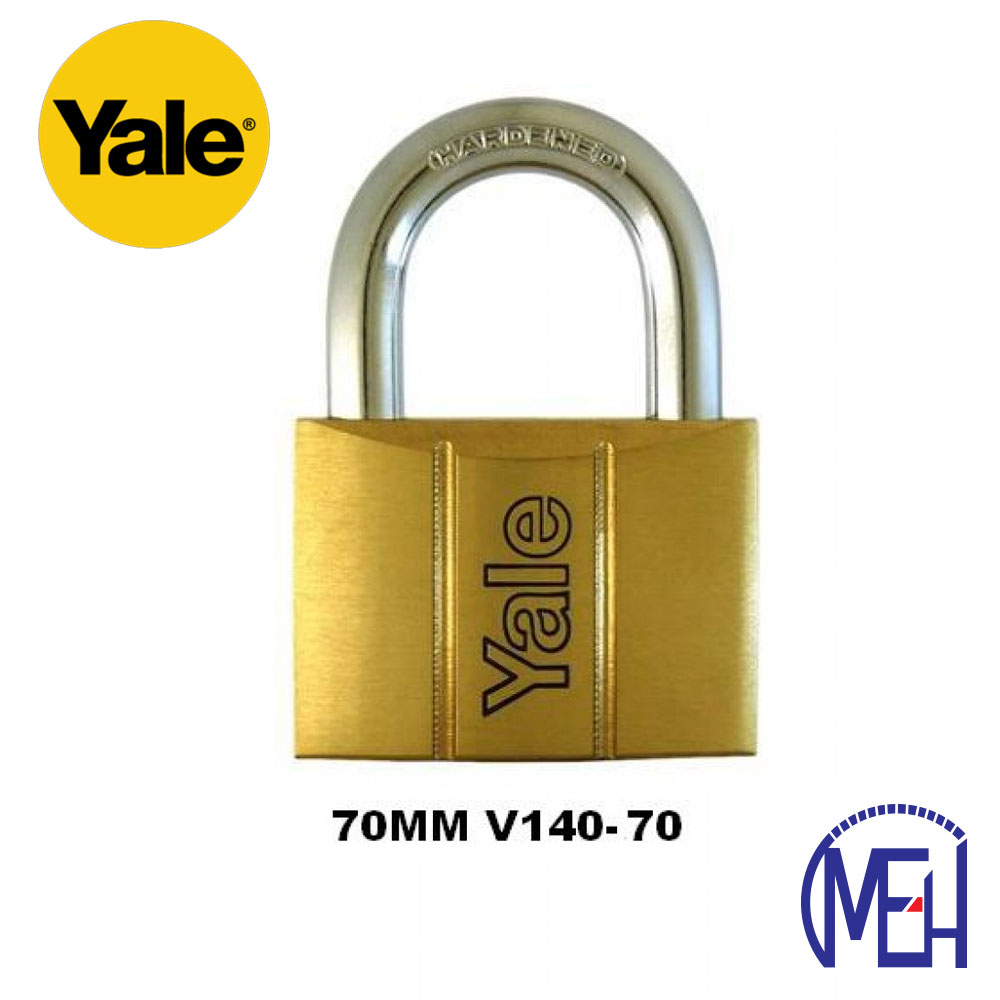 Yale Brass Padlock (70mm) V140-70