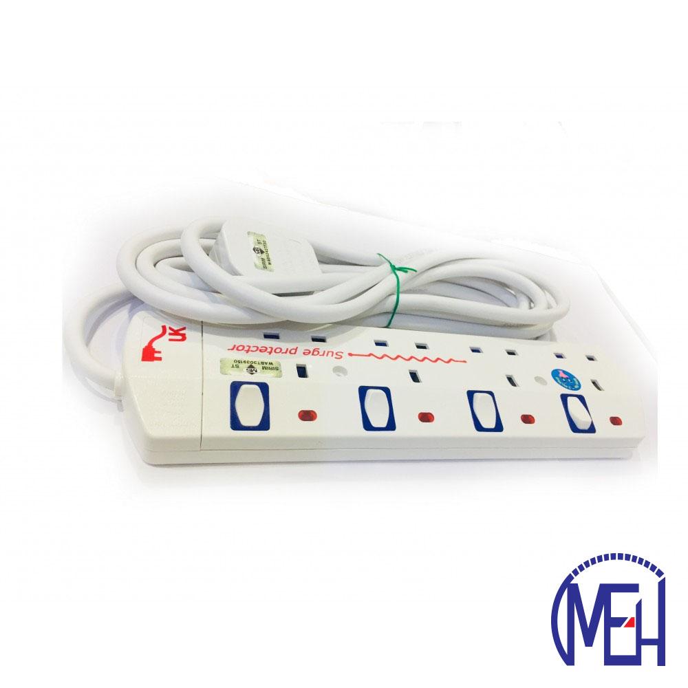 UK Portable Socket-Outlet 4y UK8624NW
