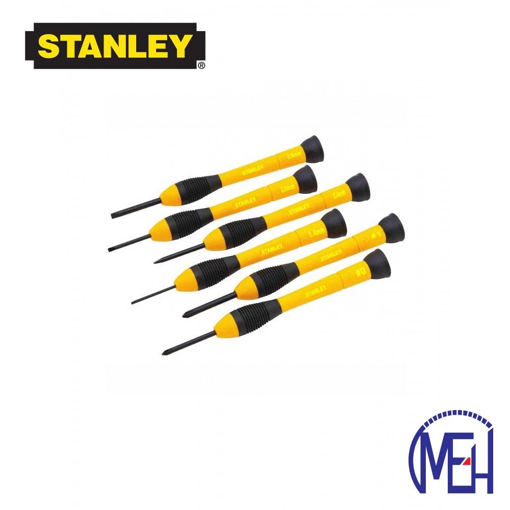 Stanley Bi-Material Handle Precision Screwdriver Set (6pcs) STHT66052-8
