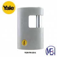 image of Yale Solid Brass Padlock (70mm) Y124-70-115-1