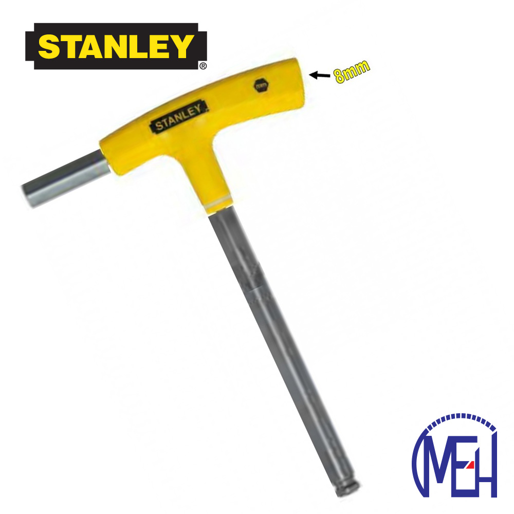 Stanley T-Handle Hex Key-Yellow 69-284