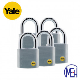 image of Yale Solid Brass Padlock (50mm) Y120-50-127-5-P1