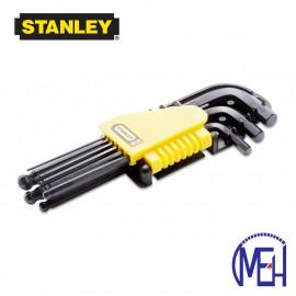 image of Stanley Hex Key-L/Arm Set (9pcs) 69-256